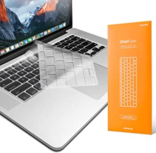 UPPERCASE Premium Ultra Thin Keyboard Protector for Macbook Pro 13 15 17 (with or without Retina Display, 2015 or Older Version) MacBook Air 13