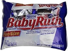 Baby Ruth Chocolate Bars, Fun Size, 11.5 oz