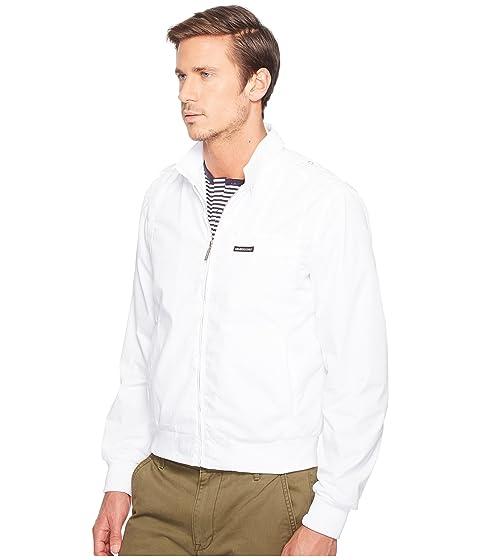 miembros Iconic White Racer Sólo Jacket para BS5qwEBxa