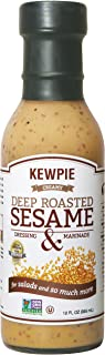 Kewpie Deep-Roasted Sesame Dressing, 12 oz (Pack of 2)