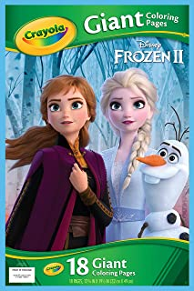 Crayola Frozen Giant Colouring Pages, Multi-Colour