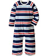 Toobydoo - Navy/White/Red Long Sleeve Jumpsuit (Infant)