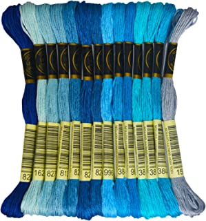 Best blue embroidery floss Reviews