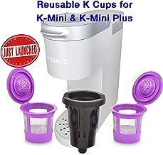 Delibru Reusable K Cups For K Mini Keurig K Mini Plus with Adapter | Keurig Mini Plus..