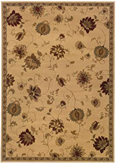 Sphinx by Oriental Weavers Amelia 3.17 x 5.58 Casual Rug - Ivory and Green