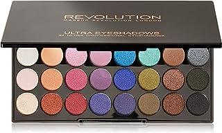 Makeup Revolution London Ultra 32 Eyeshadow Palette, Mermaids Forever, 20g