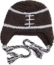 BePe Baby Infant, Toddler, Little Kids Crochet Character Beanie Brim Tassel Photo Prop Hat - Newborn to Small Adult