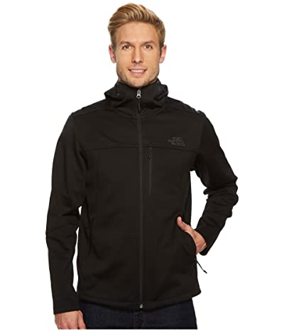 The North Face Apex Canyonwall Hybrid Hoodie (TNF Black/TNF Black) Men