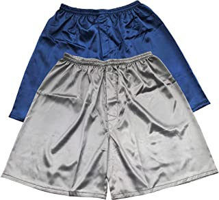 Tony & Candice Men's Satin Boxers Shorts Combo Pack Underwear