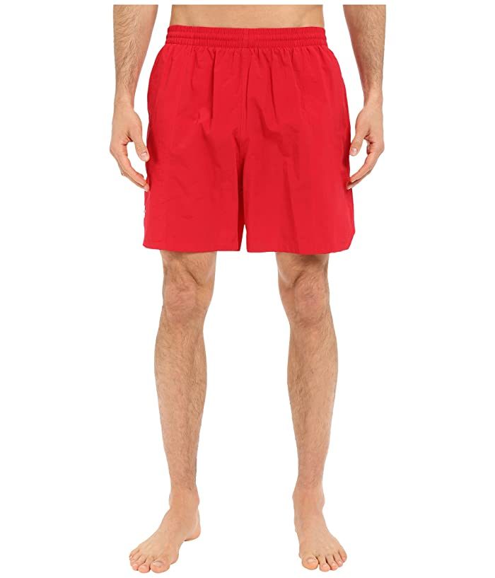TYR Classic Deck Swim Shorts (Red) Men