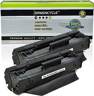 greencycle 2 PK Compatible C4092A 92A Black Toner Cartridges for HP Laserjet 1100 3200 1100a 3200se