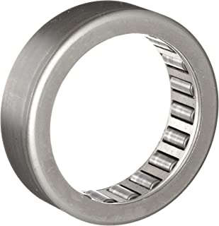 """INA SCH1010 Needle Roller Bearing, Heavy Series, Steel Cage, Open End, Inch, 5/8"""" ID, 7/8"""" OD, 5/8"""" Width, 17600rpm Maximum Rotational Speed, 3750lbf Static Load Capacity, 2850lbf Dynamic Load Capacity"""