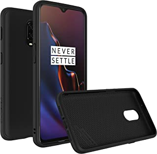 RhinoShield Case for OnePlus 6T [SolidSuit] | Shock Absorbent Slim Design Protective Cover with Premium Matte Finish [3.5M/11ft Drop Protection] - Classic Black