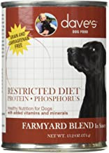 Dave's Pet Food Dog Food – Restricted Bland Diet Canned Dog Food