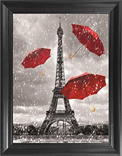 Best black and white eiffel tower painting Reviews