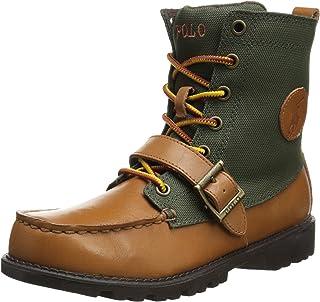 Polo Ralph Lauren Kids Ranger Hi II Leather Lace-Up Boot (Little Kid/Big Kid)