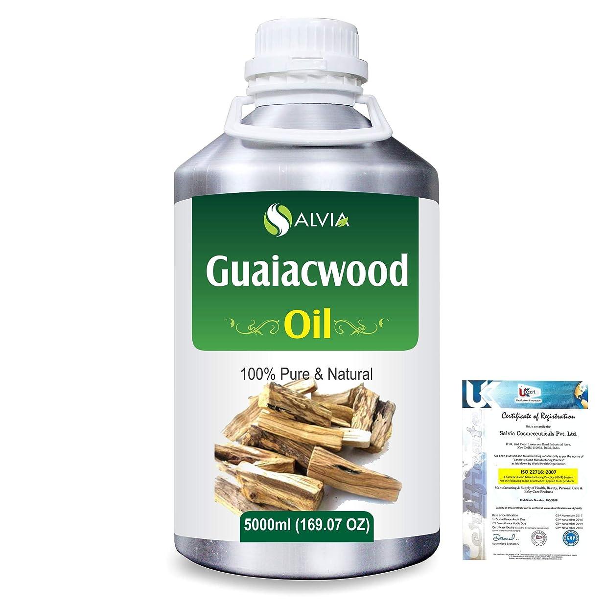 誘発する出くわす望むGuaiacwood (Bulnesia sarmientoi) 100% Pure Natural Essential Oil 5000ml/169 fl.oz.