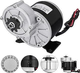 comprar comparacion Moracle Motor Eléctrico 24 V y 350 W con Engranaje para Bicicleta con Reducción de Engranaje Motor Eléctrico DC para Go Ka...