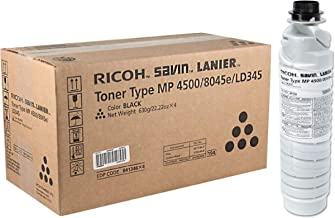 Black,1-Pack NYT Compatible High Yield Toner Cartridge Replacement for 884922 8400040 841346 for Ricoh Aficio MP 3500,MP 4000,MP 4001,MP 4002,MP 4500,MP 5000,MP 5001,MP 5002