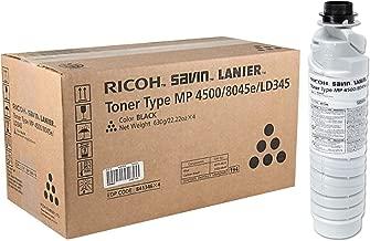 Ricoh 841346 Alficio 3500 4000 4001 4002 4500 5000 5001 Toner Cartridge (Black) in Retail Packaging