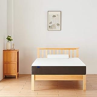 Molblly マットレス シングル 低反発+高反発の二層構造 ベッドマットレス 体圧分散 快適睡眠 抗菌 防臭 防ダニ 睡眠改善 (97*195*10 CM)