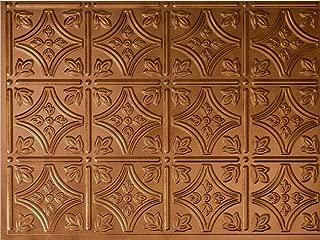 Savannah Backsplash Tiles Decorative Wall Paneling, Antique Bronze, 18
