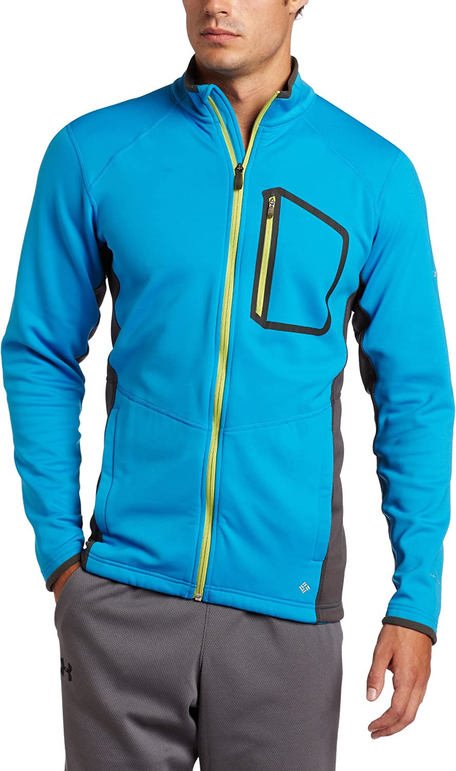 Columbia Men's Out and Back Zip Sleeve 超特価 お気に入 Long Shirt Full