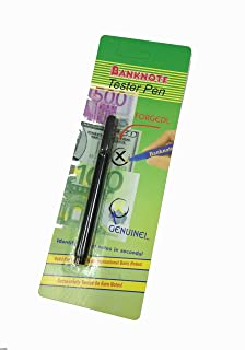Buddy Products Counterfeit Money Detector Pen, 5.25 x 0.5 x 0.5 Inches (CF-1)