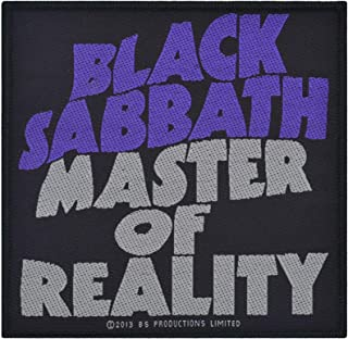 Men's Master Of Reality Woven Patch Black