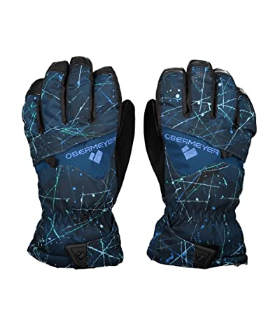 Obermeyer Kids Lava Gloves (Little Kids/Big Kids) (Zodiac) Extreme Cold Weather Gloves