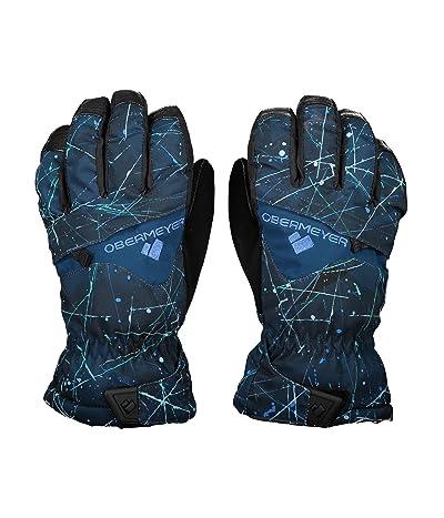 Obermeyer Kids Lava Gloves (Little Kids/Big Kids) (Zodiac) Extreme Cold Weather Gloves