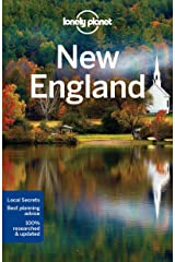 Lonely Planet New England (Regional Guide) Paperback