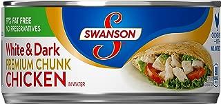 SwansonPremium White & Dark Chunk Chicken in Water, 9.75 oz.