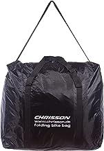 Chrisson Unisex - Volwassenen transporttas Klapfiets, zwart, One Size