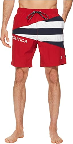 Nautica Sail Flag Color Block Trunk