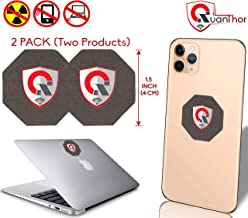 2PACK_SC Best EMF Protection Cell Phone : Radiation Protection EMF Shield WiFi, Laptop-All Devices| Negative Ion Generator| Anti Radiation Shield, EMF Blocker Neutralizer 1.5INCH (2PackSC)