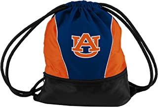 Collegiate Mesh Back Drawstring Sprint Pack with Front Zippered Pocket