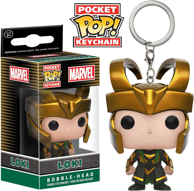 Funko Pocket Marvel - Loki POP Keychain