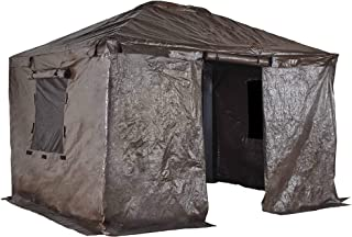 Sojag Accessories 10' x 10' Universal Winter Cover for Outdoor Sun Shelters and Gazebos, Brown