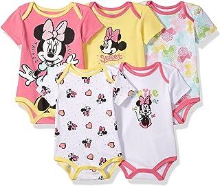 Disney - Conjunto de 5 Chalecos para bebé, diseño de Minnie Mouse