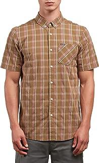 Men's Melvin Short Sleeve Plaid Button Up Shirt