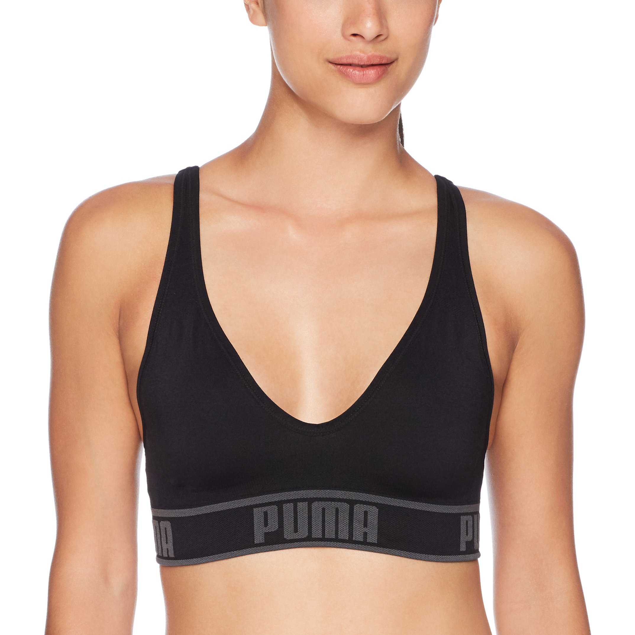 PUMA Womens Seamless Sports Black
