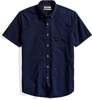 Goodthreads Men's Standard-Fit Short-Sleeve Dobby Shirt