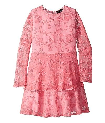 Bardot Junior Ember Lace Dress (Big Kids) (Pink) Girl