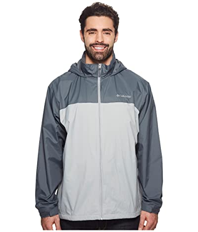 Columbia Big Tall Glennaker Lake Lined Rain Jacket (Columbia Grey/Graphite) Men