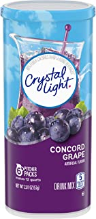 Crystal Light Concord Grape Drink Mix (6 Pitcher Packets)