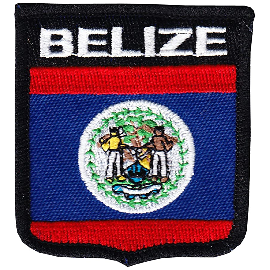 Flagline Belize - Country Shield Patch