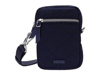 Vera Bradley Performance Twill RFID Convertible Small Crossbody (Classic Navy) Handbags