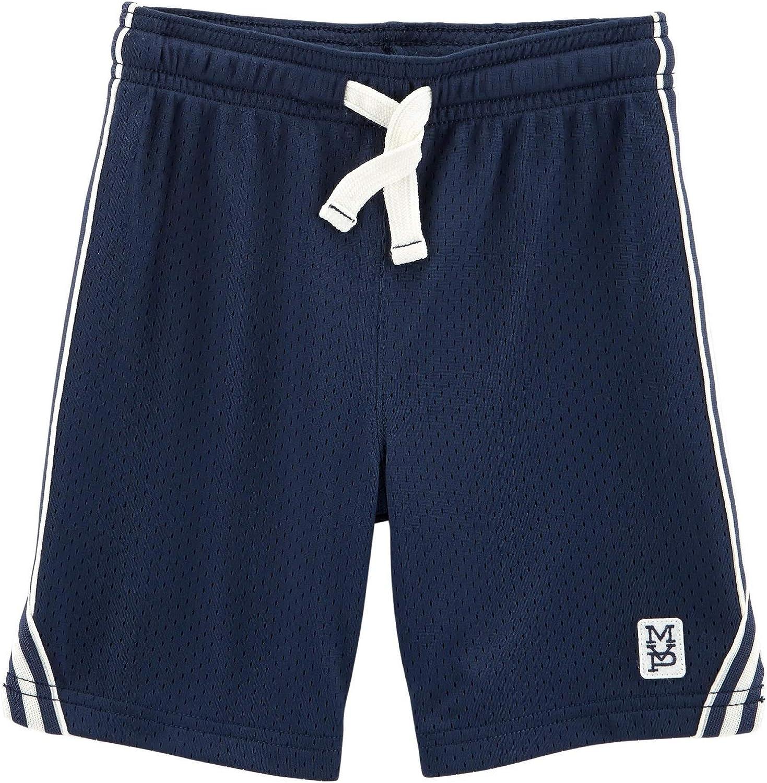 Carter's Little Boys' Pull-On Mesh Shorts