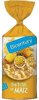 Bicentury - Tortitas De Maíz con sal, 130 g